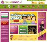 bingo gratuit sur Online Bingo