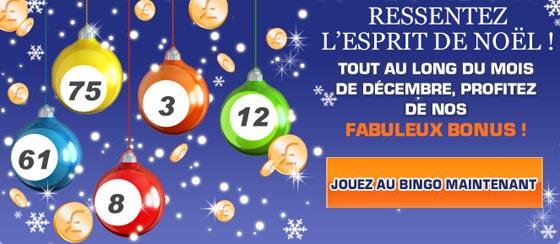 Bonus décembre Bingo Day