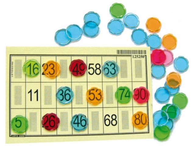 Pion aimanté Bingo