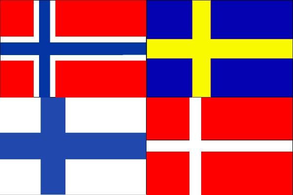 Drapeau Scandinavie
