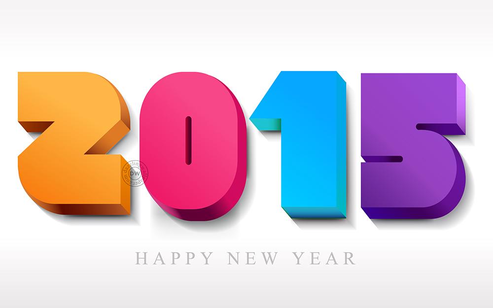 Vive l'année 2015 !