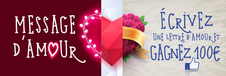 Promotion Saint Valentin 2015